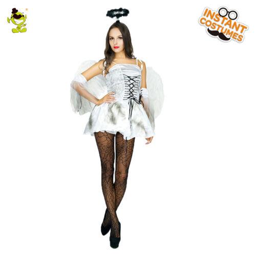 Women Guardian Angel Costume Heaven Sent Fancy Christmas Cosplay Costume