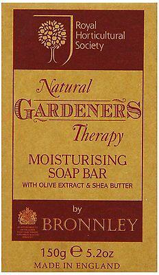 Bronnley RHS Gardeners Therapy Moisturising Soap Bar 150g