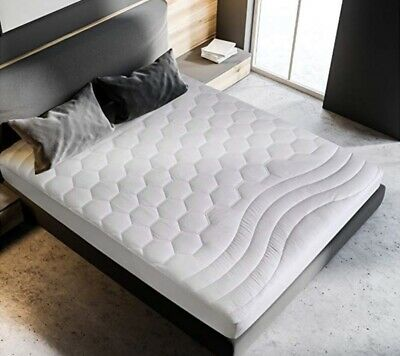 Pad Mattress Bed Cover Luxury Protector Ultra Soft Quilted