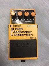 Boss DF-2 super feedbacker&Distortion guitar effects pedal vintage