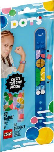 33pcs FREE UK PP LEGO DOTS Go Team Bracelet DIY Art and Crafts Set 41911 Age 5