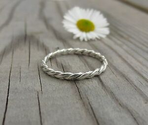 Handmade-Sterling-Silver-1-5mm-Double-Twist-woven-stacking-ring