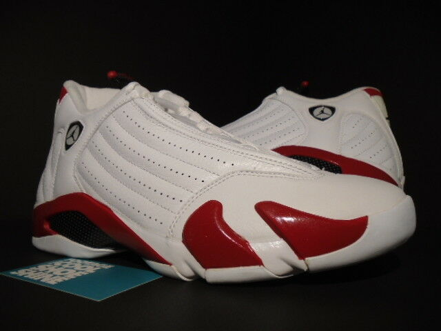 NIKE AIR JORDAN XIV 14 RETRO CANDY CANE CHICAGO WHITE RED BLACK 311832-101 9.5 Special limited time
