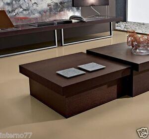 tavolino basso design asja tavolo salotto apribile | ebay - Tavolino Soggiorno Apribile