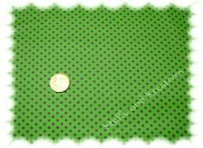 Punktestoff xs beschichtet Wachstuch grün lila 50 cm wasserabweisend