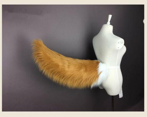 FGO Fate Grand Order Tamamo no Mae Fox Plush Ears Tails Cosplay Costume Props