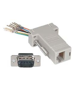 db9 rs232 male to rj11/12 6p6c phone line jack modular adapter, Wiring diagram