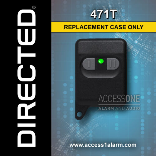 Viper 471T or 471C 2-Button Replacement Remote Control Case For 300 HF or 430V