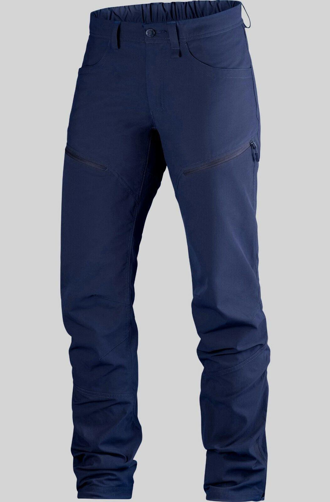 Haglöfs mid Flex Pant Men Hiking Trousers Outdoor Trousers for Men Camo bluee