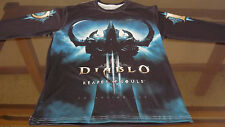 Diablo 3 Reaper Of Souls / Blizzard / Long SleeveT-Shirt / 100%  Polyester - L