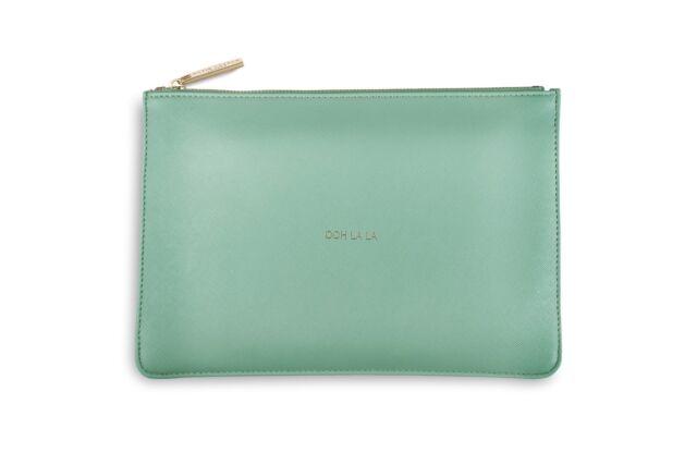 7695db66271 Katie Loxton OOH LA LA Perfect Pouch Clutch Bag - Mint Green + Gift Bag