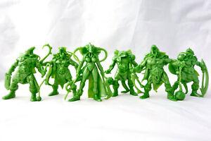 Lizardmen-Warriors-6-Fantasy-Figures-54-mm-Plastic-Toy-Soldiers-Tehnolog-New