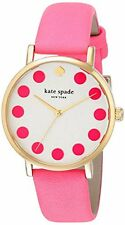 Kate Spade New York Women's 1YRU0770 Metro Dot Pink Watch