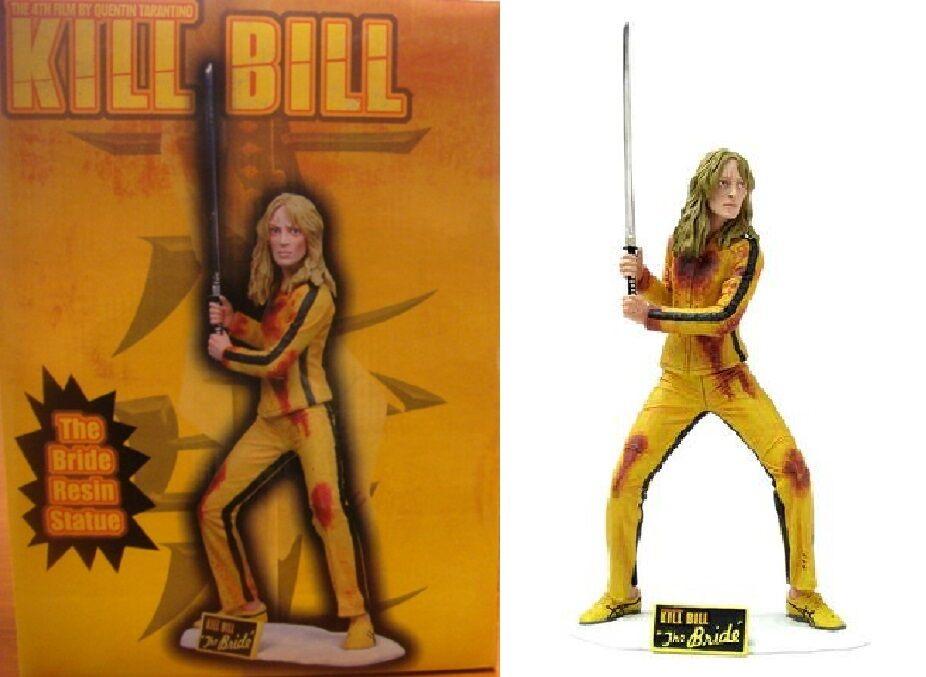 Neca kill bill die braut 13  harz - statue auf 600 pcs uma thurman