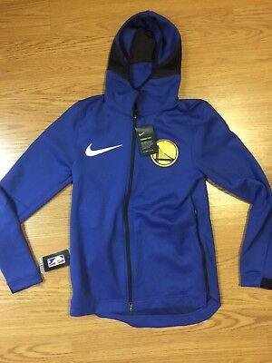 Nike NBA Golden State Warriors Therma Flex Showtime Hoodie Jacket 899840 495 3XL | eBay
