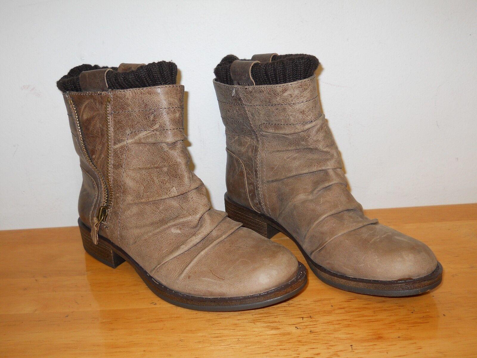 Gianni Bini New femmes Light marron Ankle bottes 6 M chaussures NWOB