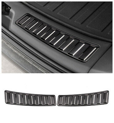 2PCS Rear Door sill scuff plate Insert land rover Discovery Sport 2014-up