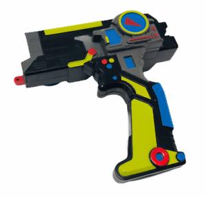 Hasbro-Tomy-Beyblade-Metal-Fusion-Duotron-Launcher-Gear-Accessory-Rare-Loose