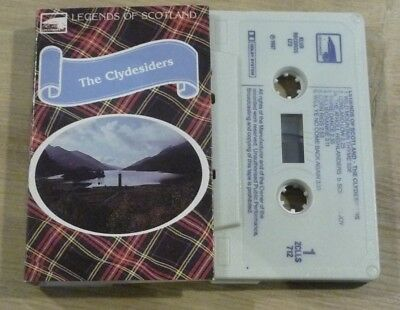 Ambitieus Cassette K7 Tape Legends Of Scotland The Clydesiders Zclls 712 Uitstekende (In) Kwaliteit