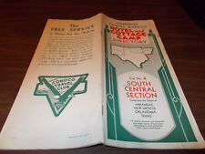 1935 Conoco Vintage Hotel & Cottage Camp Directory / South Central Section