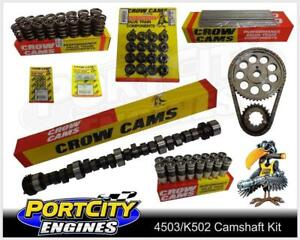 Crow-Cam-amp-Valve-Train-Kit-for-Holden-V8-VN-VP-VR-VS-5-0L-304-355-4503-K502