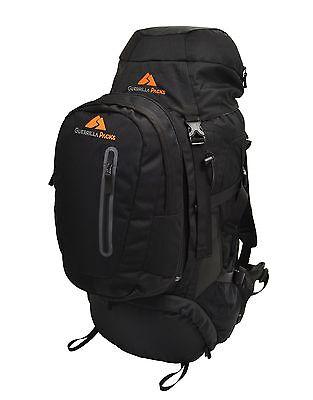 Guerrilla Packs Gladiator 70L Internal Frame Hiking Travel Adventure Backpack