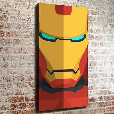 Starry sky and iron man Picture HD Canvas print Home decor Poster Room Wall art