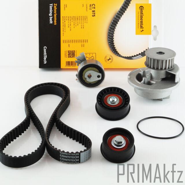 CONTITECH CT975 Zahnriemen + Rollensatz + Wasserpumpe Opel Saab 1.8 / 1.8 16V