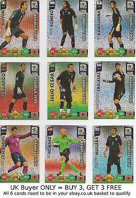 PANINI ADRENALYN XL FIFA WORLD CUP 2010 {sélectionnez votre} Fans /'Favourite foil cards