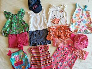 12x Summer 12-18 Mth Bundle Peppa Pig Maillot De Bain Tshirts Short Hello Kitty Jupe-afficher Le Titre D'origine