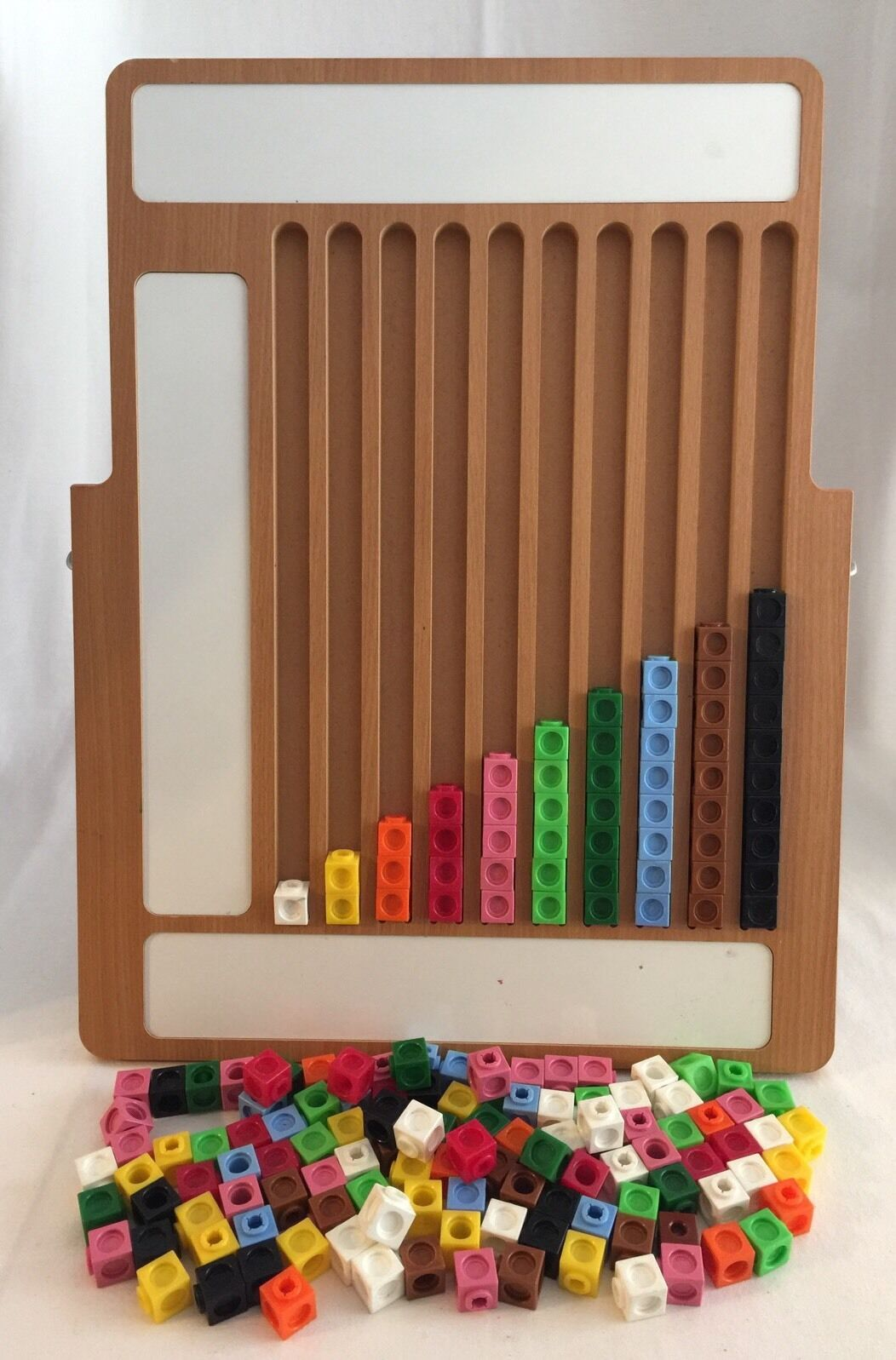 Multilink Cubes Graph Board Home School Math Graphing