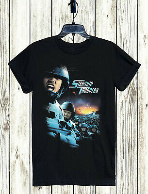 Alien V4 Science Fiction movie T-Shirt All sizes S to 5XL BLACK