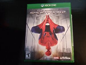 Details about Replacement Case (NO VIDEO GAME) THE AMAZING SPIDER-MAN  SPIDERMAN 2 XBOX ONE 1