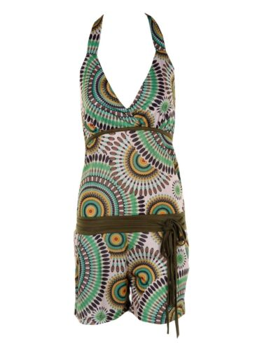 New Womens Holiday Mini Playsuit Ladies Jumpsuit Summer Beach Dress