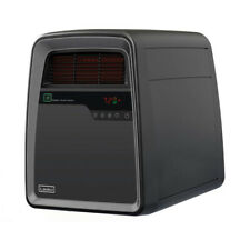 Lasko QB16103 Portable Electric 1500W Infrared Quartz Space Heater with Remote