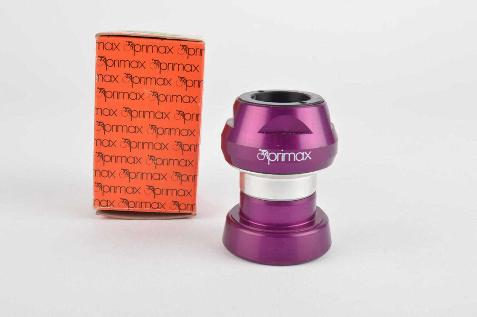 NEW Primax Misura purple anodized needle bearing Headset french threading NOSNIB