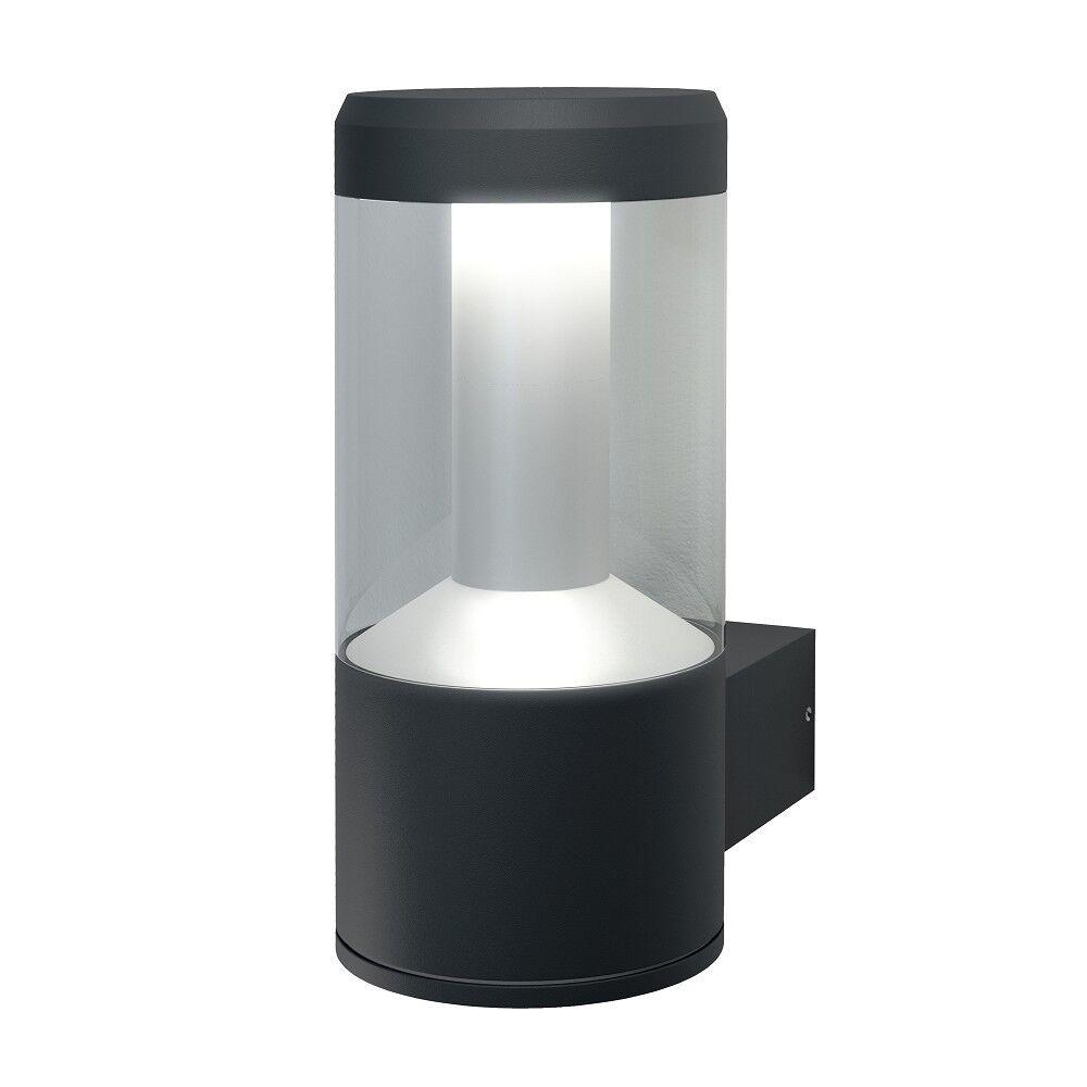 Ledvance outdoor facade Lantern dark gris 12w LED muro exterior lámpara gris oscuro