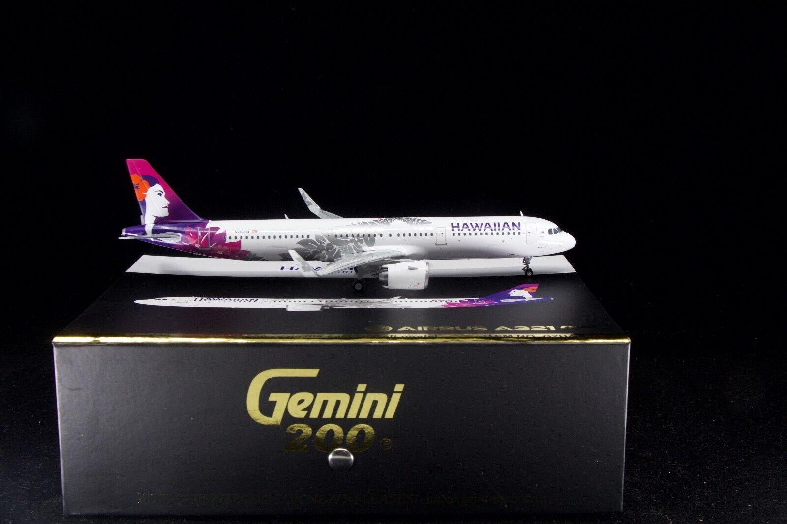 Gemini Jets 1 200 Hawaiian A321NEO N202HA