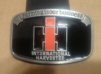 International Harvester Belt Buckle Farming Is Our Business