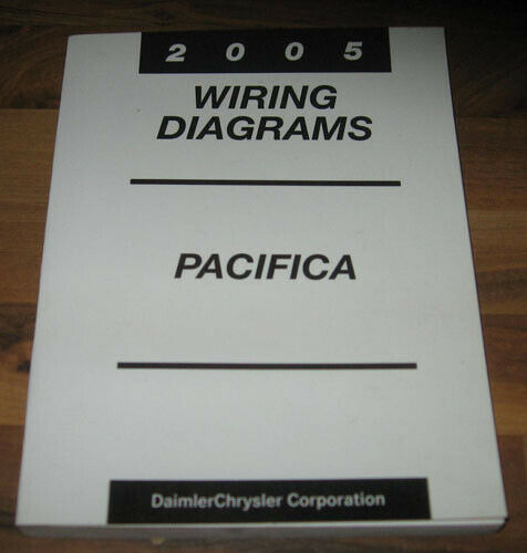 2005 Chrysler Pacifica Electrical Wiring Diagrams Service
