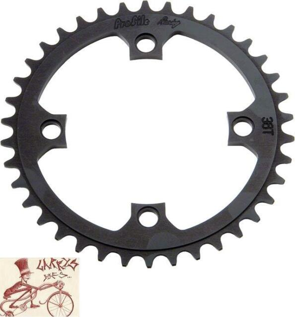 Profile Racing 41 Tooth 104mm Black Chainring