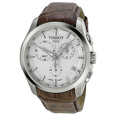 Tissot Couturier GMT Chronograph Swiss Made Mens Watch