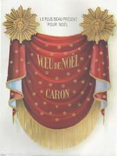 ▬► PUBLICITE ADVERTISING AD PARFUM PERFUME Voeu de Noël de CARON (b)