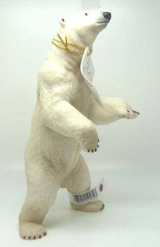 107-18 Papo 50172 Polar Bear Standing Bear Novelty 2015 Wild Animals
