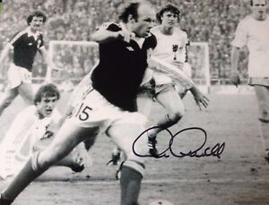 ARCHIE GEMMILL  DERBY amp SCOTLAND LEGEND  SUPERB SIGNED WORLD CUP GOAL PHOTO - OLDHAM, United Kingdom - ARCHIE GEMMILL  DERBY amp SCOTLAND LEGEND  SUPERB SIGNED WORLD CUP GOAL PHOTO - OLDHAM, United Kingdom