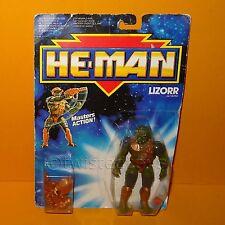 VINTAGE 1989 80s MATTEL MOTU NEW ADVENTURES OF HE-MAN LIZORR FIGURE MOC CARDED