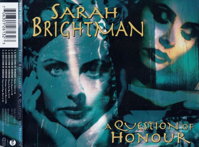 SARAH BRIGHTMAN : A QUESTION OF HONOUR / CD - TOP-ZUSTAND