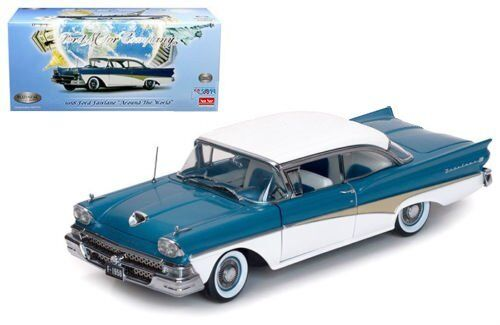 SUNSTAR 1 18 1958 FORD FAIRLANE  Around The The The World  LIMITED EDITION 1 OF 999 5283 42db4e