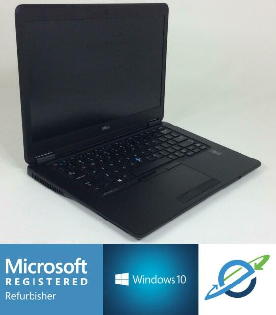 DELL LATITUDE E7450 Intel Core i7-5600U 2.60GHz 256GB SSD 16GB - Windows 10 Pro