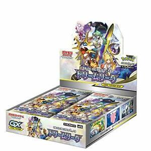 Carte-Pokemon-Jeu-Soleil-amp-Lune-Expansion-Paquet-Dream-League-Booster-Boite-JP